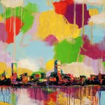 "Mixed Media on Canvas, 40x30"", 2010"