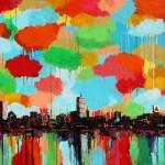 "Mixed Media on Canvas, 40x30"", 2012"