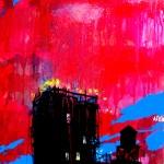 "Mixed Media on Canvas, 24x36"", 2010"