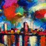 "MIxed Media on Canvas, 24x20"", 2011"