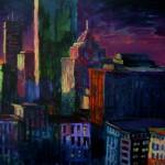 "Mixed Media on Canvas, 36x24"", 2009"