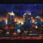 "Mixed Media on Canvas (framed), 24x18"", 2010"