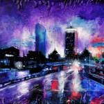 Mixed Media on Canvas, 18x24″, 2011