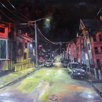 """Grant Ave, oil on canvas, 30x24"""", 2014"""