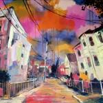 "Hadley Street, oil on canvas, 30x24"", 2014, SOLD"