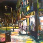 "Superette, oil on canvas, 30x24"", 2014 SOLD"