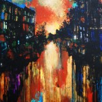 "MIxed Media on Canvas, 30x24"", 2009"