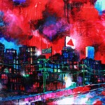 "Mixed Media on Canvas, 60x36"". 2011"