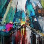 "MIxed Media on Canvas (Framed), 30x40"", 2010"