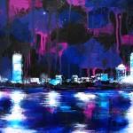 "Mixed Media on Canvas, 40x30"", 2011"