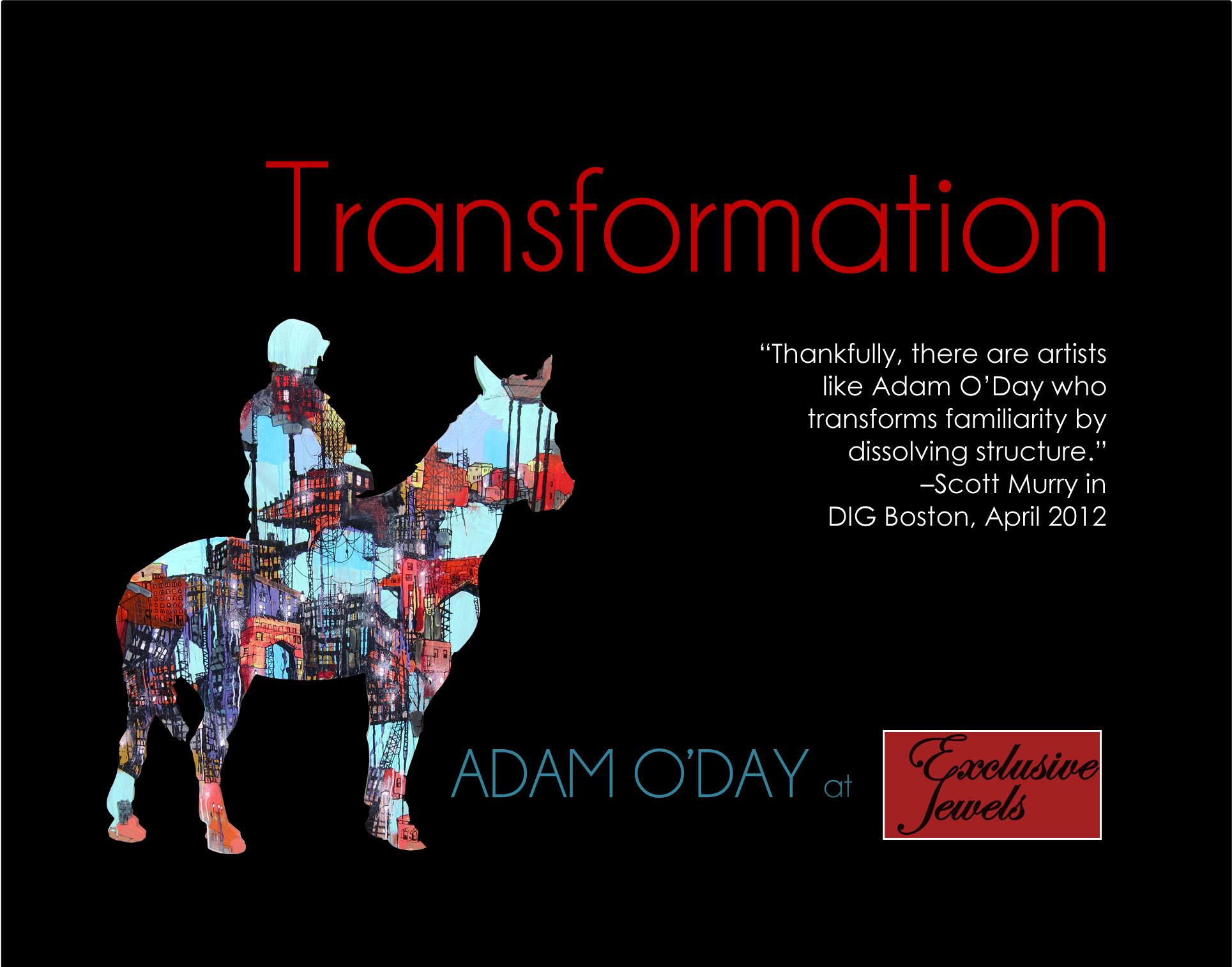 Art Opening. Adam ODay 3.15_F