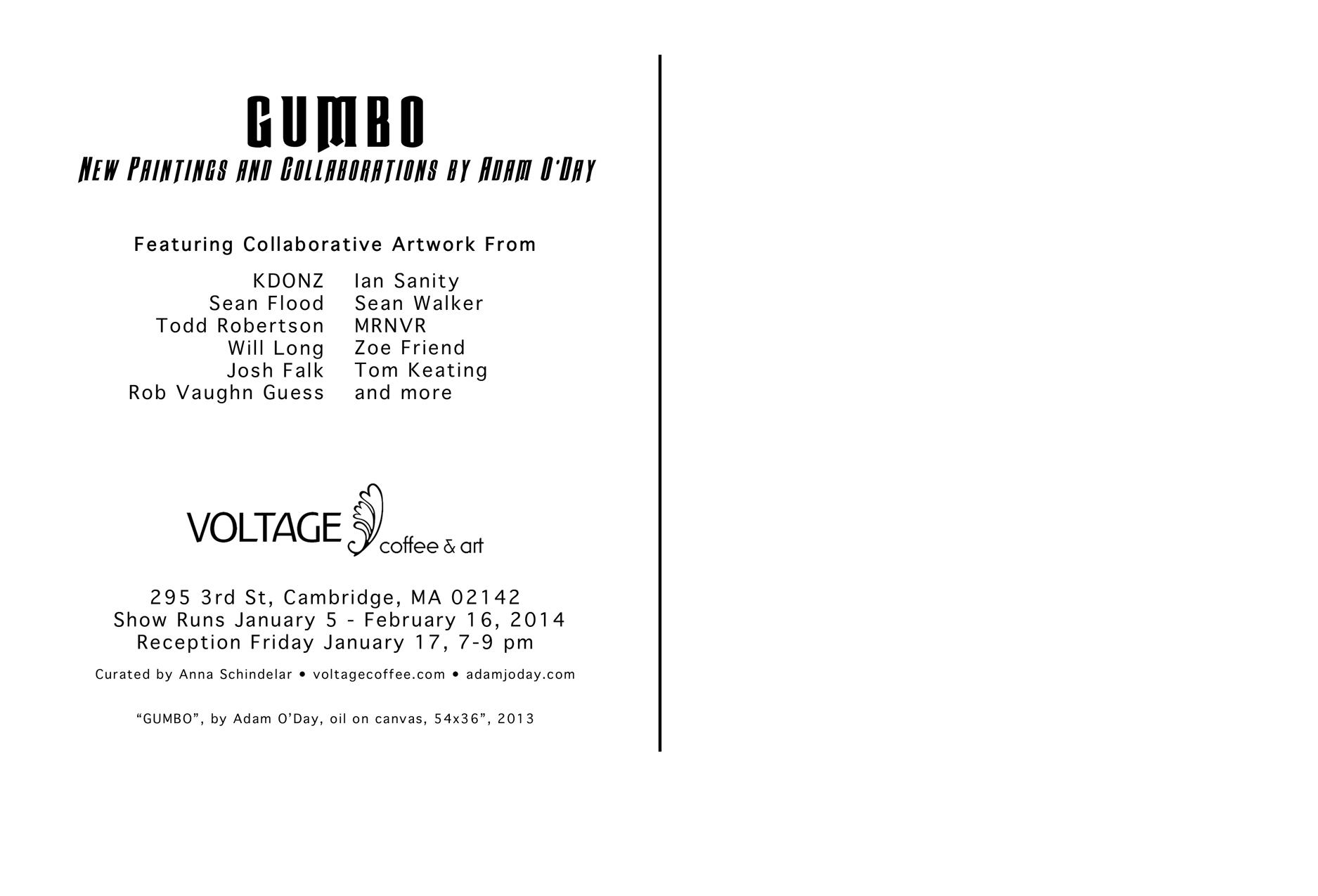 GUMBO Back 4x6