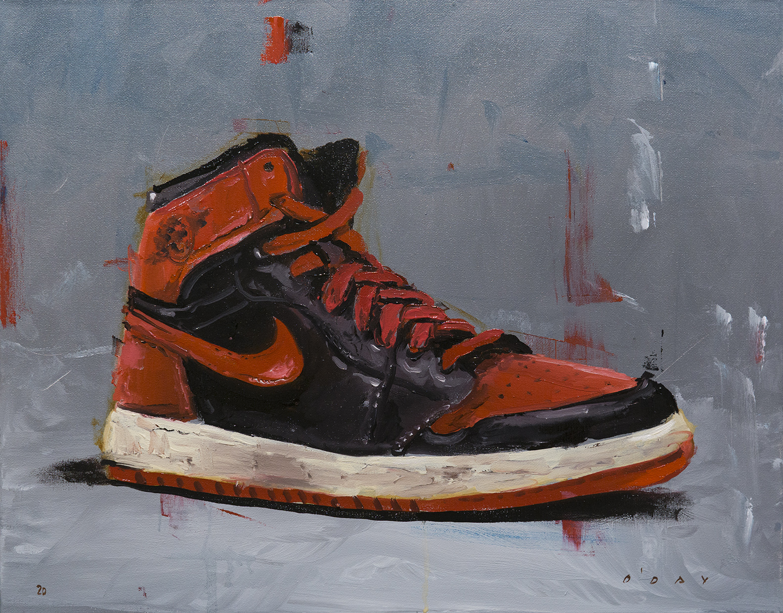 """Banned, oil on canvas, 16x20"""", 2020 SOLD"""