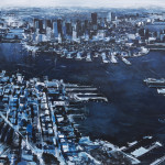 """Eastie View, oil on linen, 30x40"""", 2018, SOLD"""