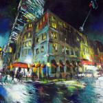 "Fairmont, acrylic on canvas, 36x48"", 2018, SOLD"