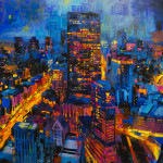 "Hancock, oil on canvas, 44x72"", 2020 SOLD"