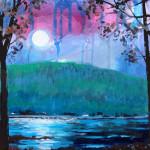 Lake George Night 10.19.13 web