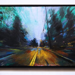 "Lincoln Street, oil on canvas, 24x36"", 2020"
