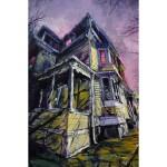 """Rob's House, oil on canvas, 36x24"""", 2020"""