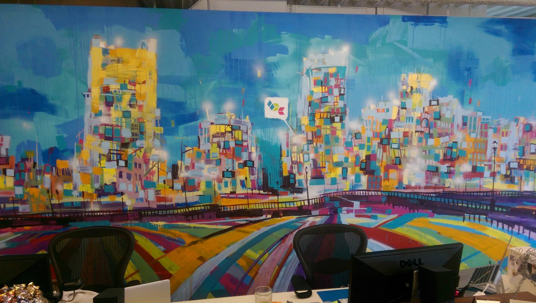 Brightcove Mural 2