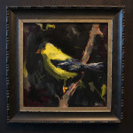goldfinch framed med