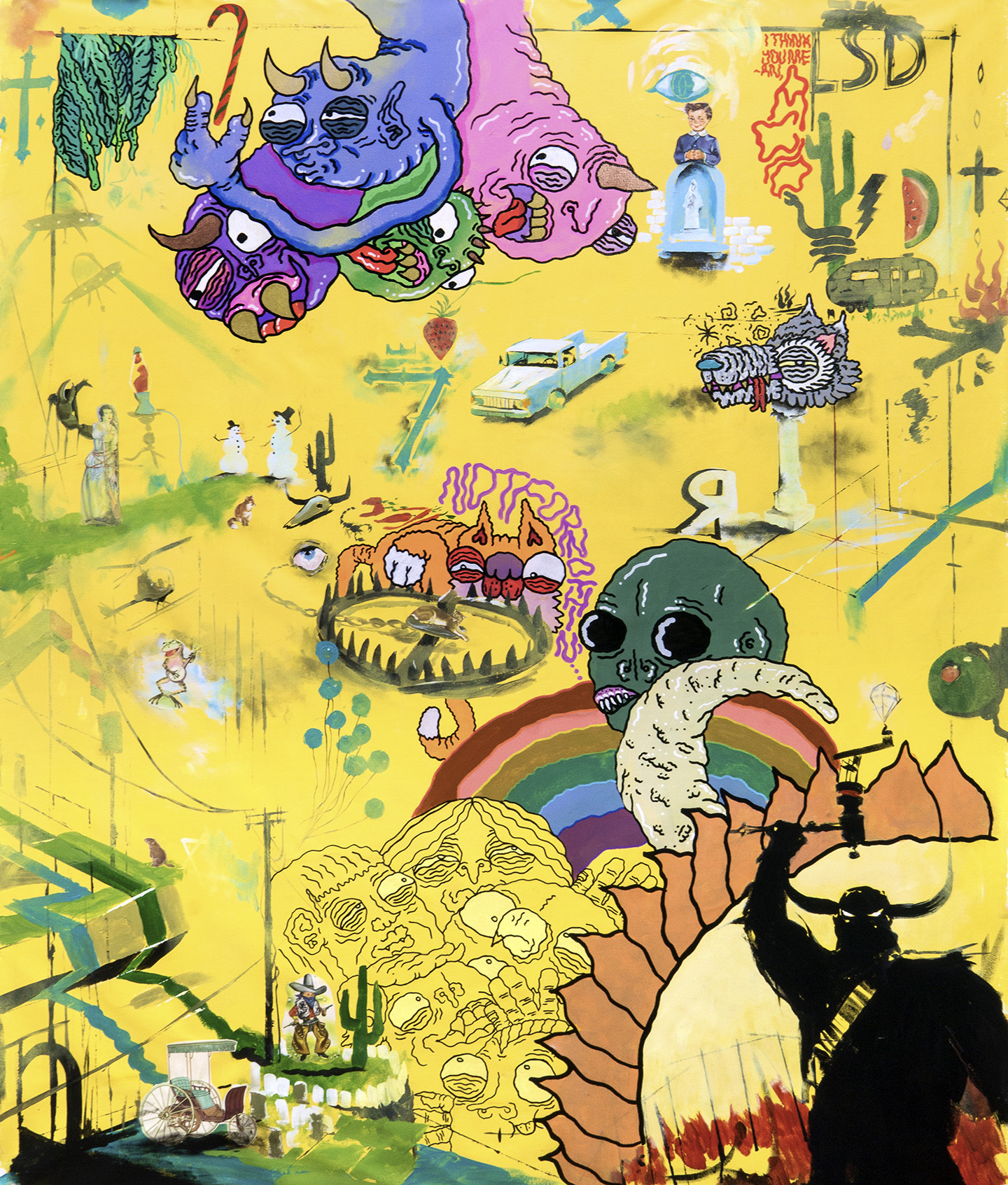 LSD web Cosmos